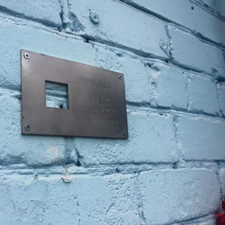 «Последний адрес»: сто табличек памяти