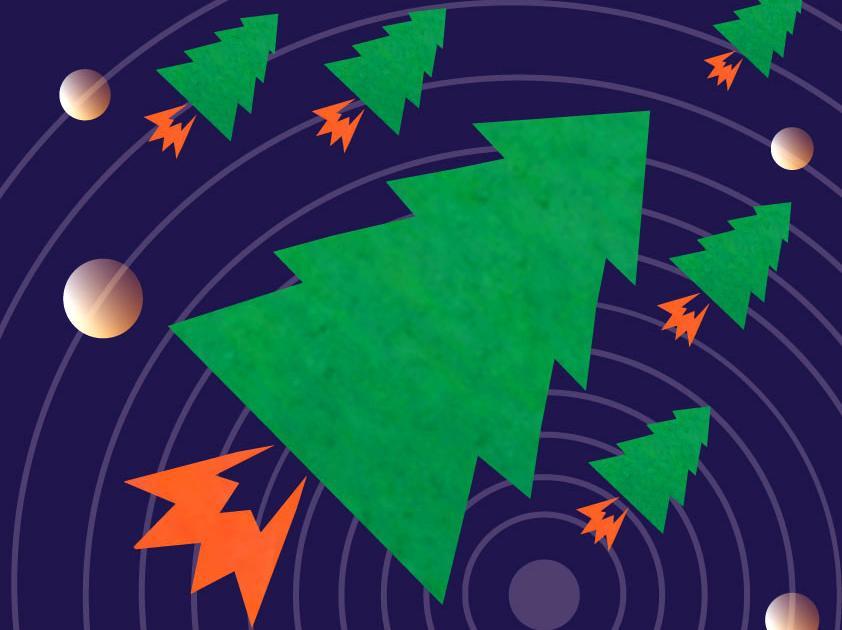 «Полетели Ели!» —  новогоднее космическое приключение