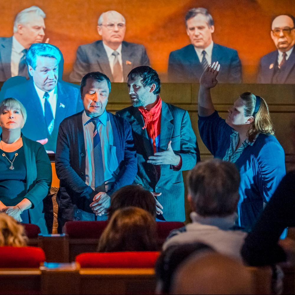 Премьера в музее: пьеса-променад «Карусель»