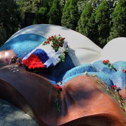 Защитники Белого дома почтили память Бориса Ельцина