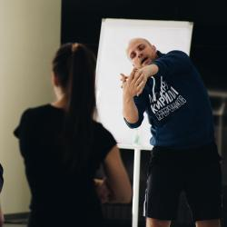 ТЕРРИТОРИЯ. Мастер-класс хореографа и танцовщика Евгения Кулагина