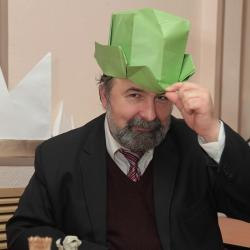 Лекция Романа Свиридова об оригами
