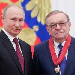 Владимир Шевченко награжден орденом «За заслуги перед Отечеством» II степени