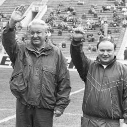 Полная версия. Футбольный матч 1992 года: Москва против России