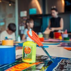 Арт-лаборатория в Детском кафе. Август
