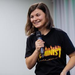 Залина Маршенкулова: «Любая женщина, которая считает себя личностью, — это феминистка»