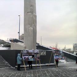 Свобода собраний в действии: пикет у Ельцин Центра