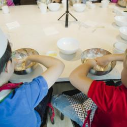 Школа юных кулинаров: бублик, косичка, пирожок