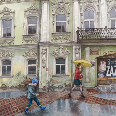 Выставка Алёны Дергилёвой «Образ города. Екатеринбург. Москва. Провинция»