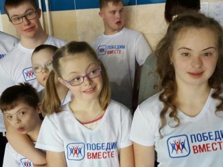 В Москве впервые прошёл Открытый турнир по плаванию среди людей с синдромом Дауна