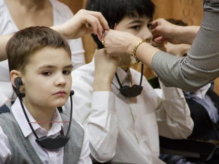 Музыкальный РИТМ для слабослышащих детей